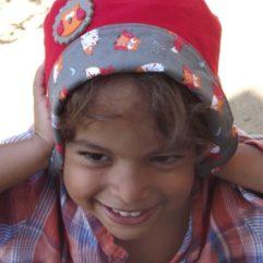 chapeau de soleil enfant