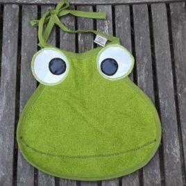 bavoir grenouille