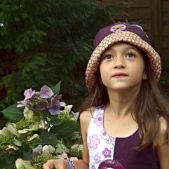 chapeau de pluie enfant