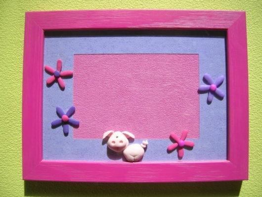 cadre photo cochon